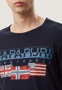 Napapijri - SCOTT - Maglietta a manica lunga - blue marine - 3