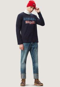 Napapijri - SCOTT - Maglietta a manica lunga - blue marine - 1