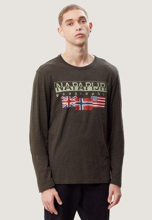 SCOTT - Maglietta a manica lunga - evergreen