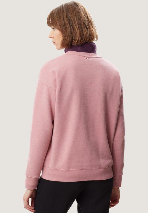 dobra jakość Napapijri Bluza - pink blush Odzież Damska QRIA-KG5