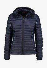 AERONS HOOD - Light jacket - blu marine