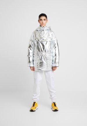 SKIDOO - Zimní kabát - metallic silver