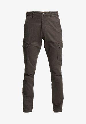 MOTO WINT - Pantalon cargo - dark grey solid