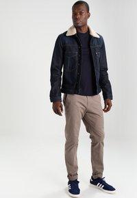 Napapijri - SENOS CREW - T-shirts - blu marine - 1