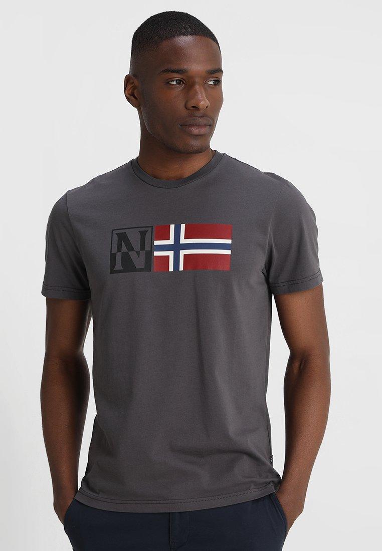 Napapijri - SAXY - T-shirt con stampa - volcano