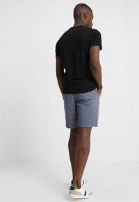 Napapijri - SAXY - T-shirt imprimé - black - 2
