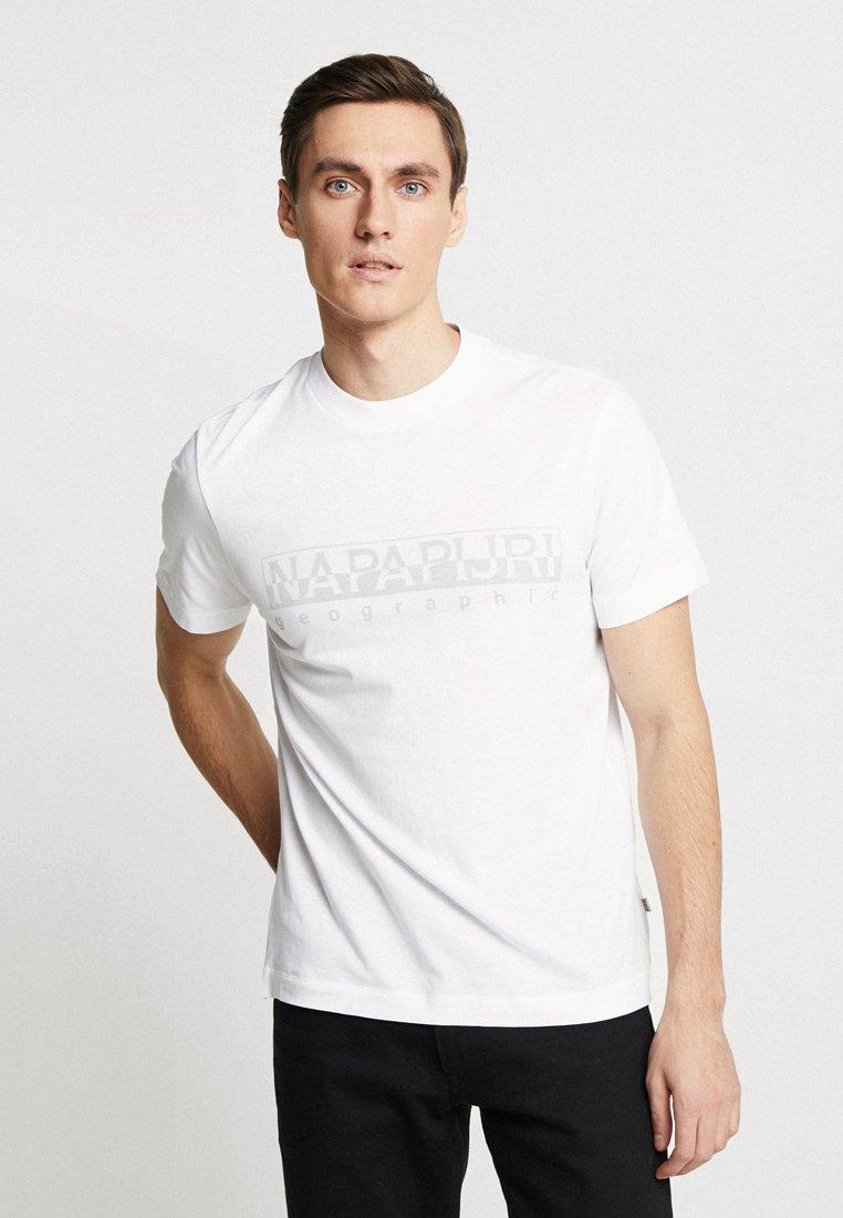 Napapijri - SEVORA - T-Shirt print - bright white