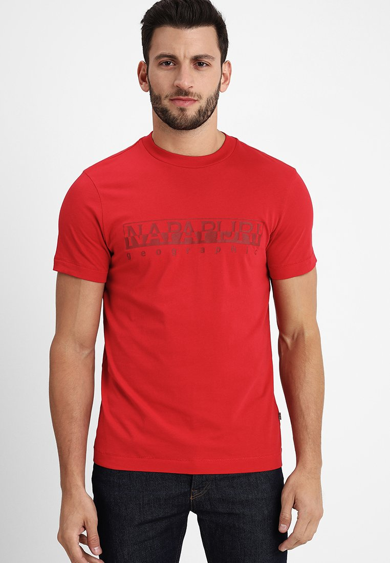 Napapijri - SEVORA - T-Shirt print - true red