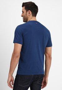 Napapijri - SEVORA - T-shirts print - dark denim - 2