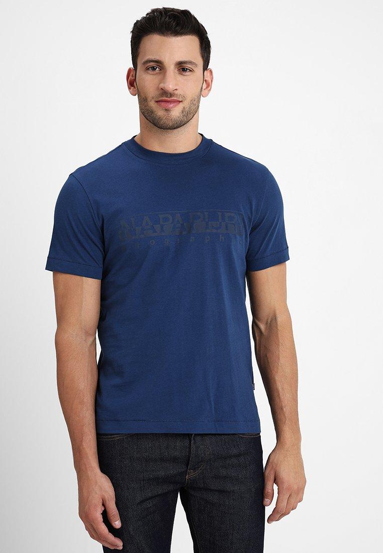 Napapijri - SEVORA - T-shirts print - dark denim
