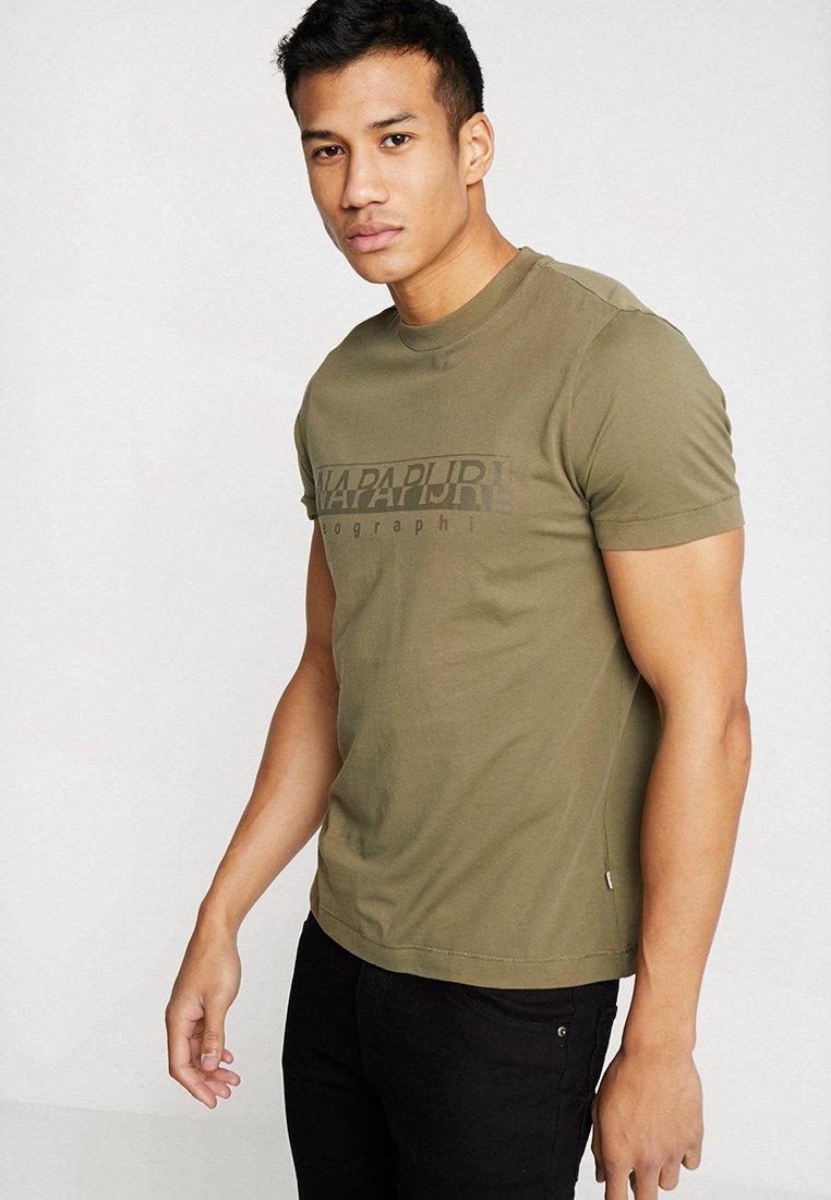 Napapijri - SEVORA - T-Shirt print - new olive green