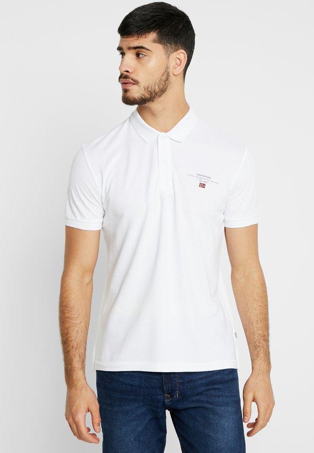 ELBAS - Koszulka polo - bright white