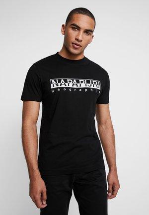 EMBRO - T-shirt con stampa - black embro