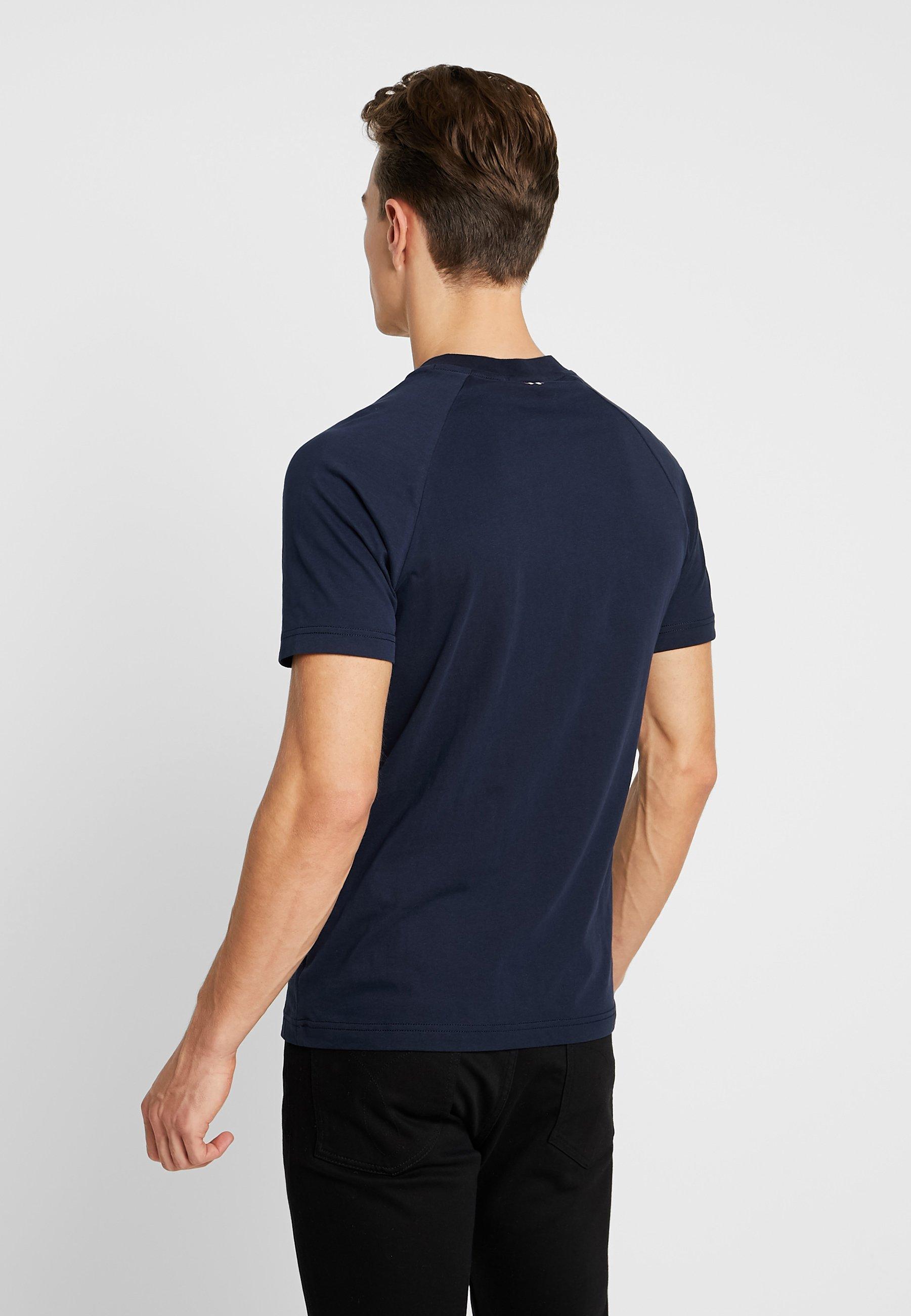 Napapijri SovesT shirt Blu Marine Imprimé c54LqASjR3