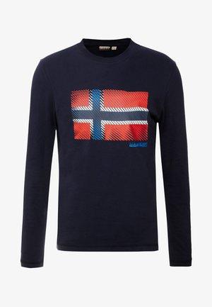 SIBU - Camiseta de manga larga - blu marine