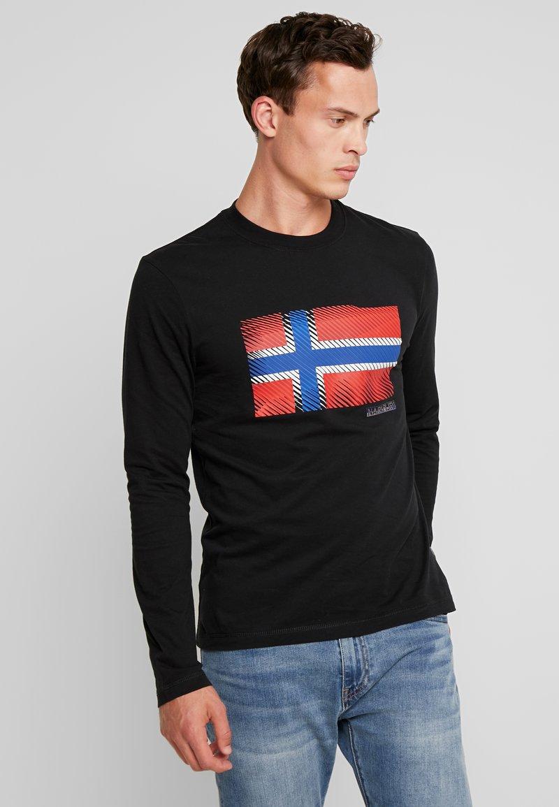 Napapijri - SIBU - T-shirt à manches longues - black
