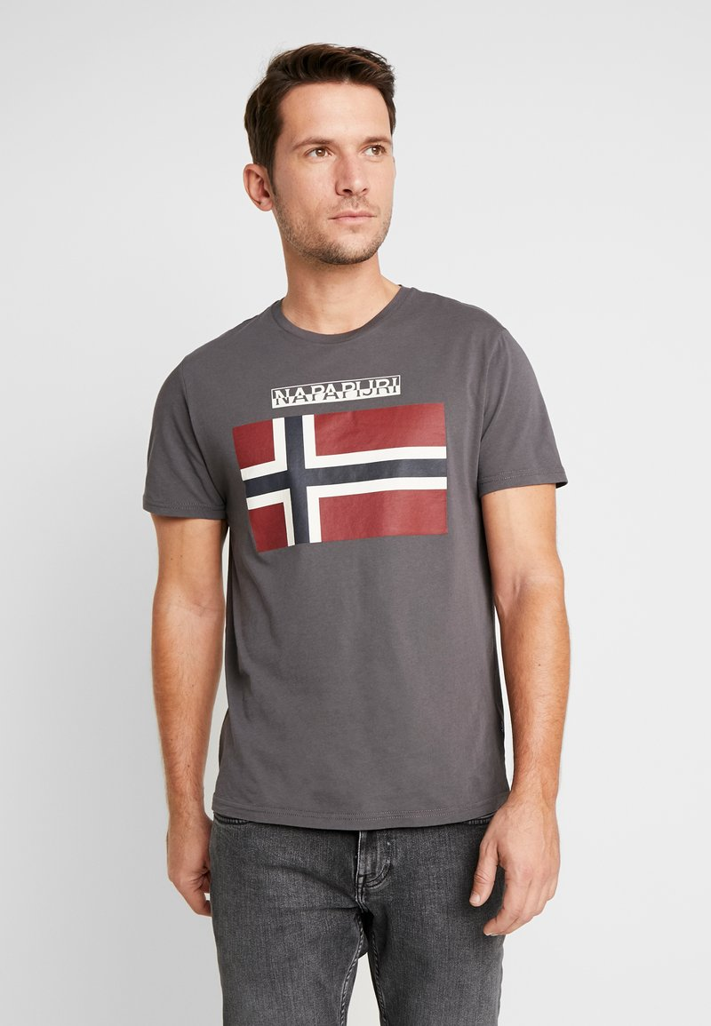 Napapijri - SAXY  - Camiseta estampada - volcano