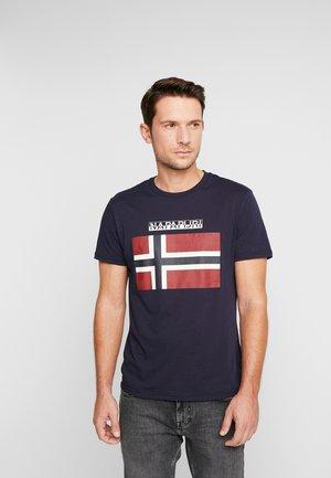 SAXY  - Print T-shirt - blue marine