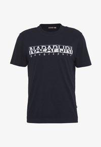 Napapijri - SOLANOS - Camiseta estampada - marine - 4