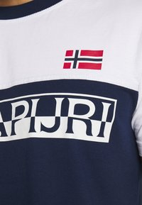 Napapijri - SARAS - Camiseta estampada - medieval blue - 4