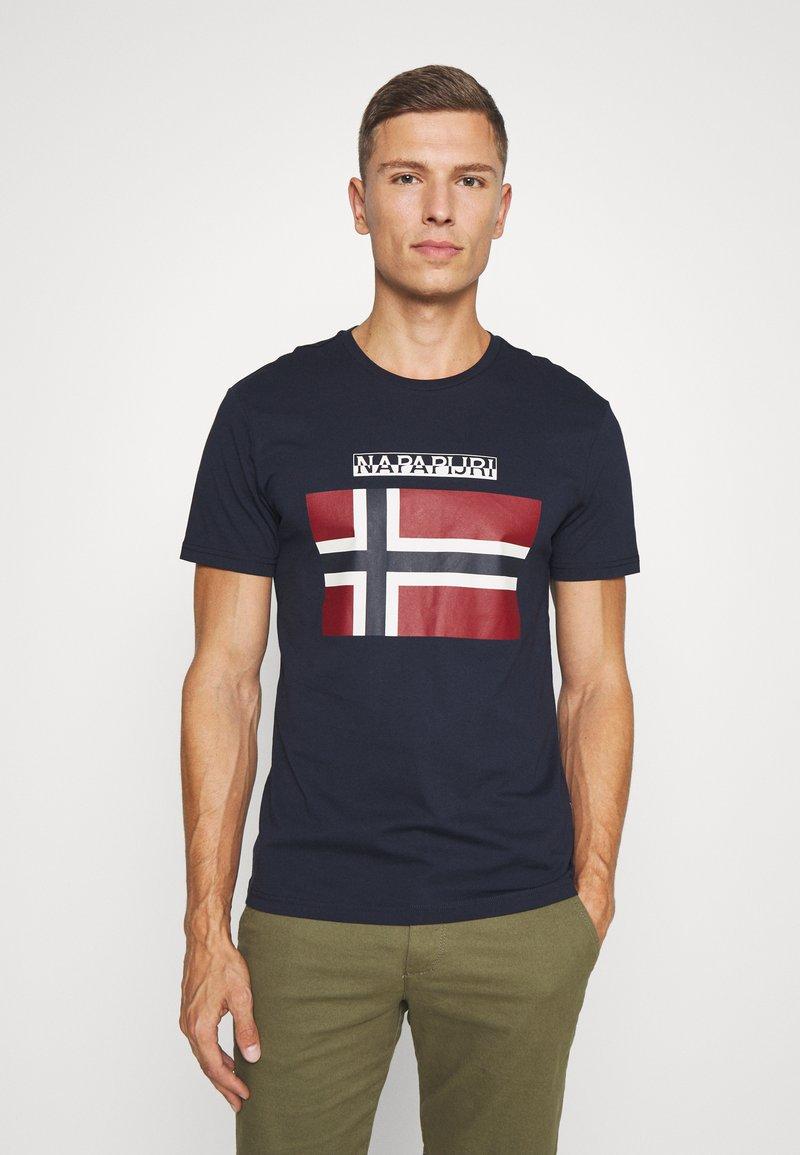 Napapijri - SELLYN - Camiseta estampada - blue marine