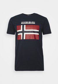 Napapijri - SELLYN - Camiseta estampada - blue marine - 4