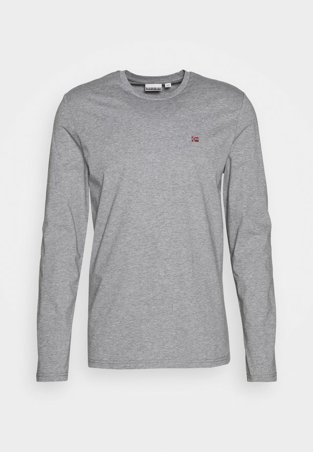 SALIS  - Top sdlouhým rukávem - motlled grey
