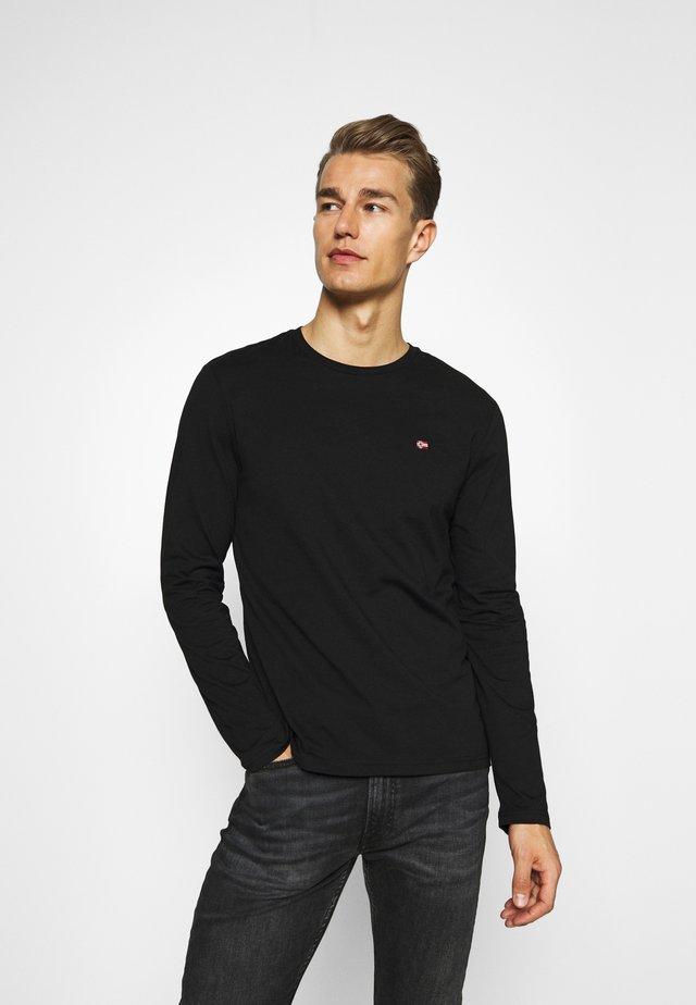 SALIS  - Long sleeved top - black