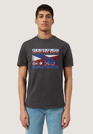 SIKAR - T-shirts print - dark grey