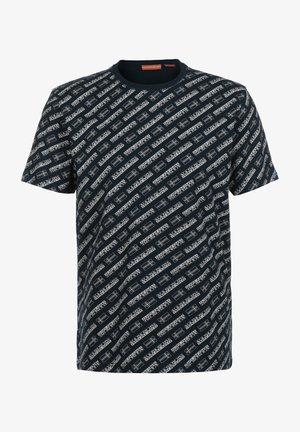 SELOS - Print T-shirt - blu allover