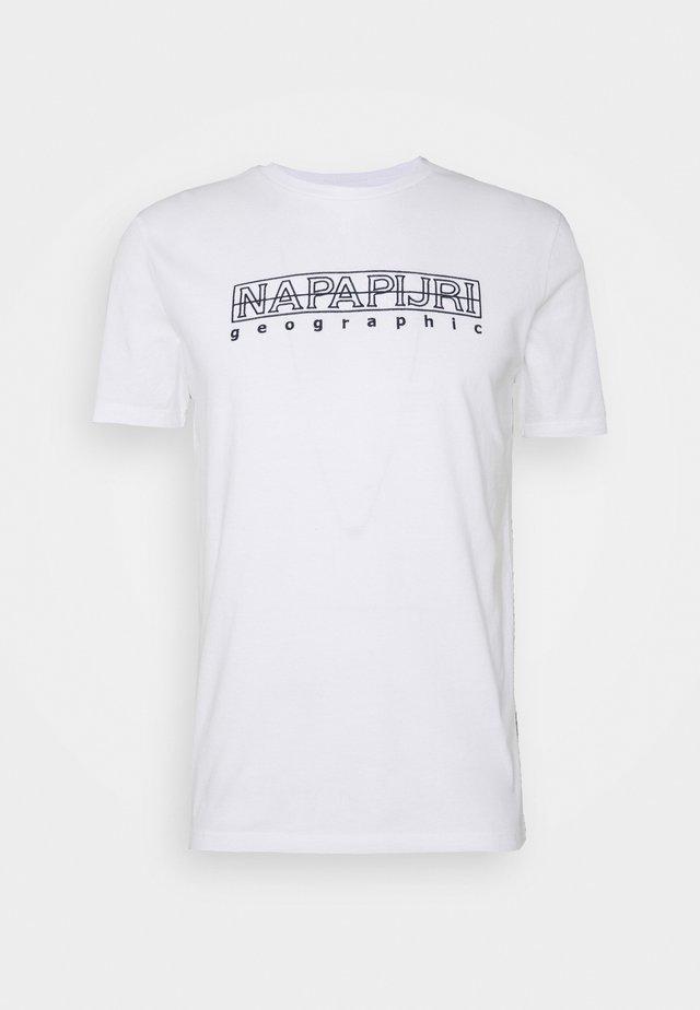 SEBEL - T-Shirt print - bright white