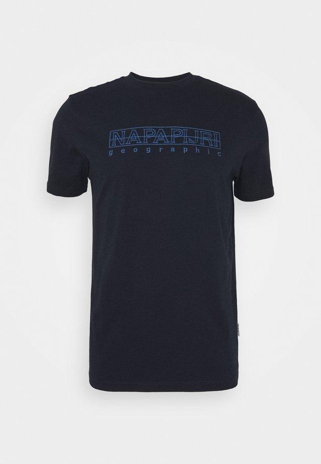 SEBEL - T-Shirt print - blue marine