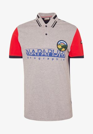 EISHOP - Koszulka polo - medium grey melange