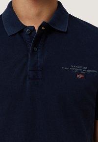 Napapijri - ELBAS - Koszulka polo - blu marine - 4
