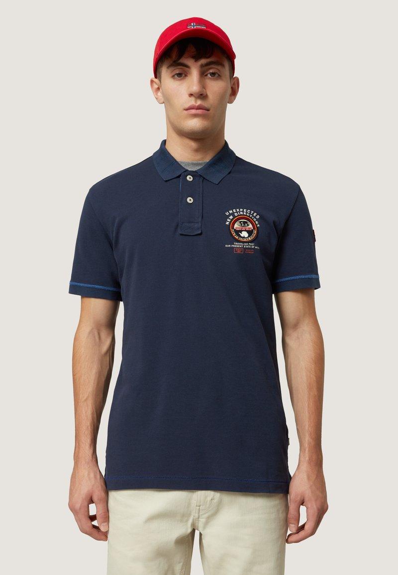 Napapijri - ELICE - Koszulka polo - medieval blue