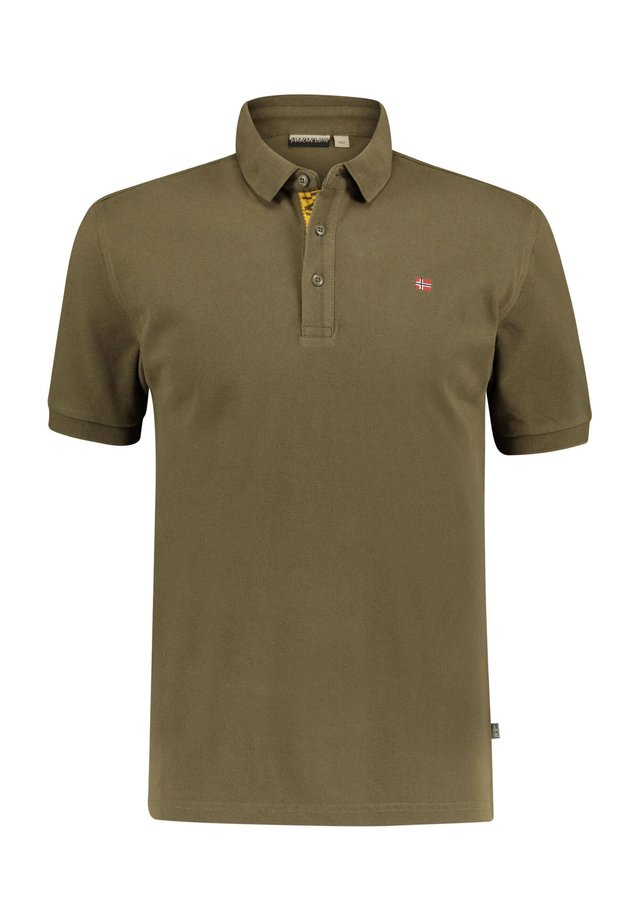 "NAPAPIJRI HERREN POLOSHIRT ""EOLANOS"" KURZARM - Polo shirt - grün (43)"