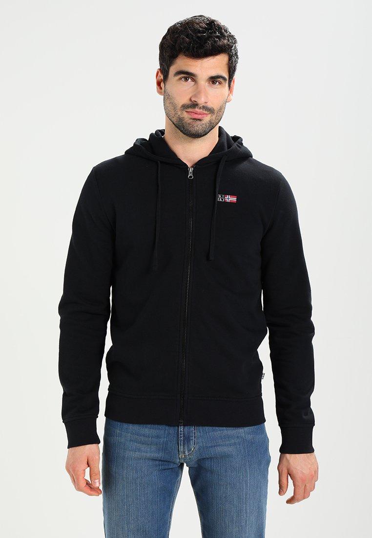 Napapijri - BENOS FZ - Zip-up hoodie - black