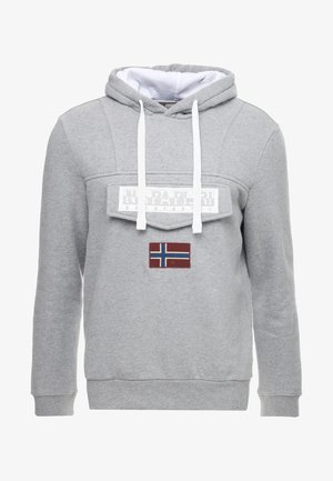 BURGEE - Hættetrøjer - med grey melange