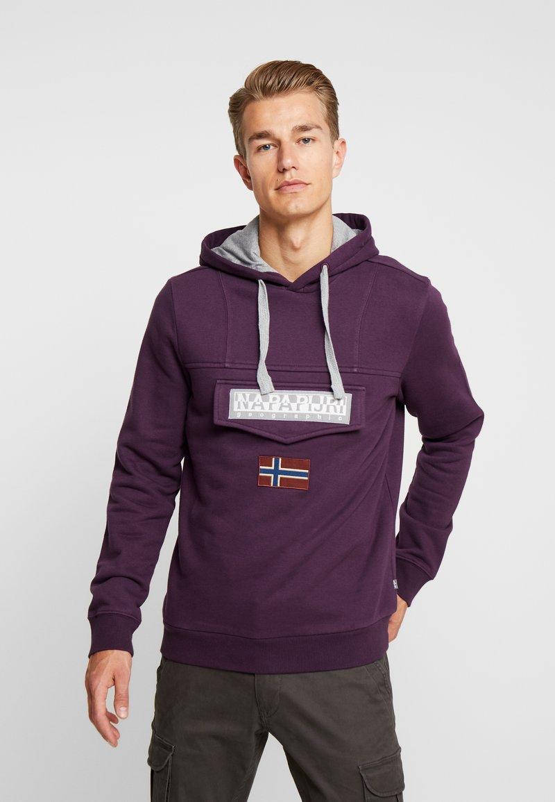 Napapijri - BURGEE - Hoodie - purple wine