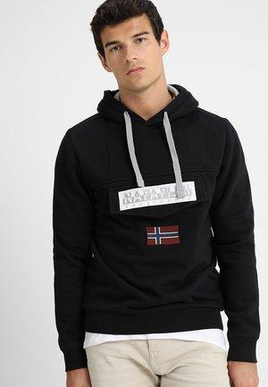 BURGEE - Bluza z kapturem - black