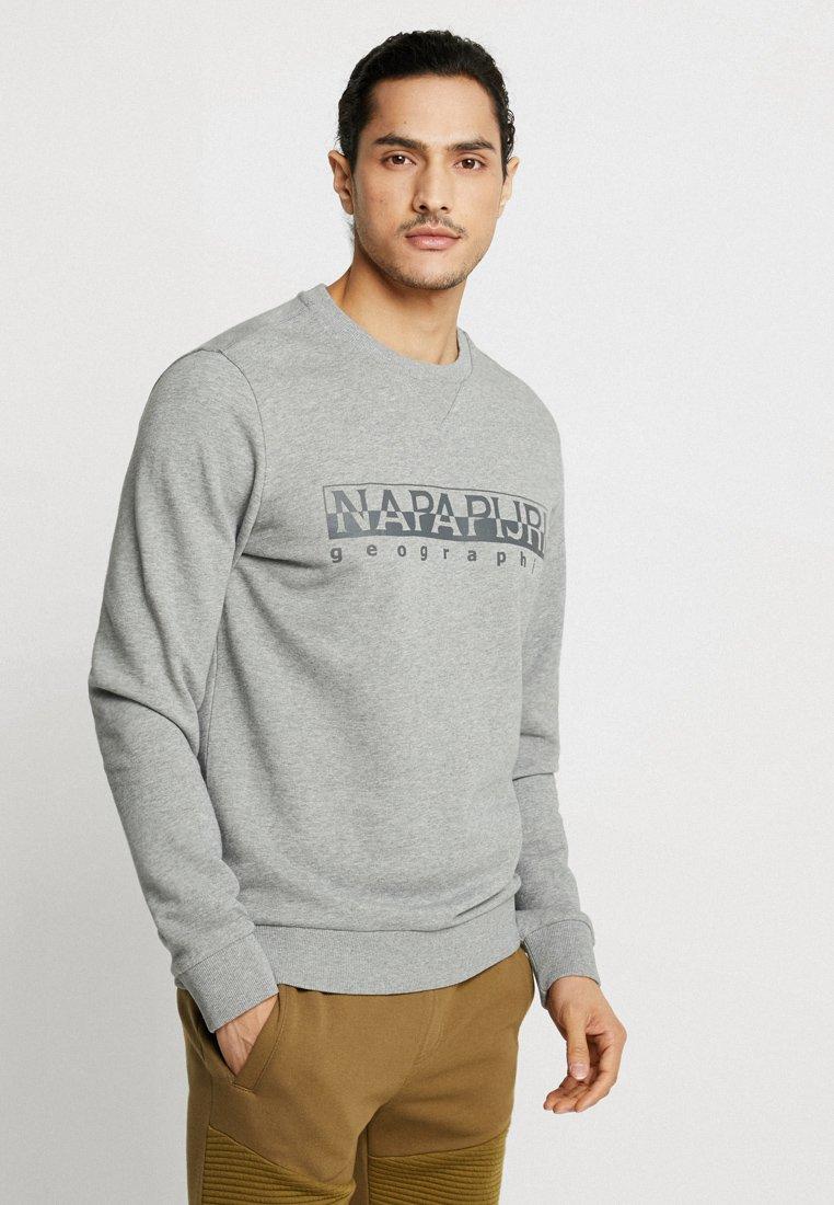 Napapijri - BEVORA - Sweatshirts - grey melange