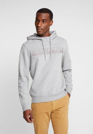 BERBER - Jersey con capucha - med grey melange