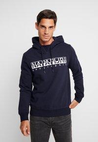 Napapijri - BERBER - Hoodie - blue embro - 0