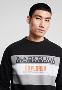 Napapijri - BOVES - Sweatshirt - black - 4