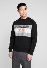 Napapijri - BOVES - Sweatshirt - black - 0