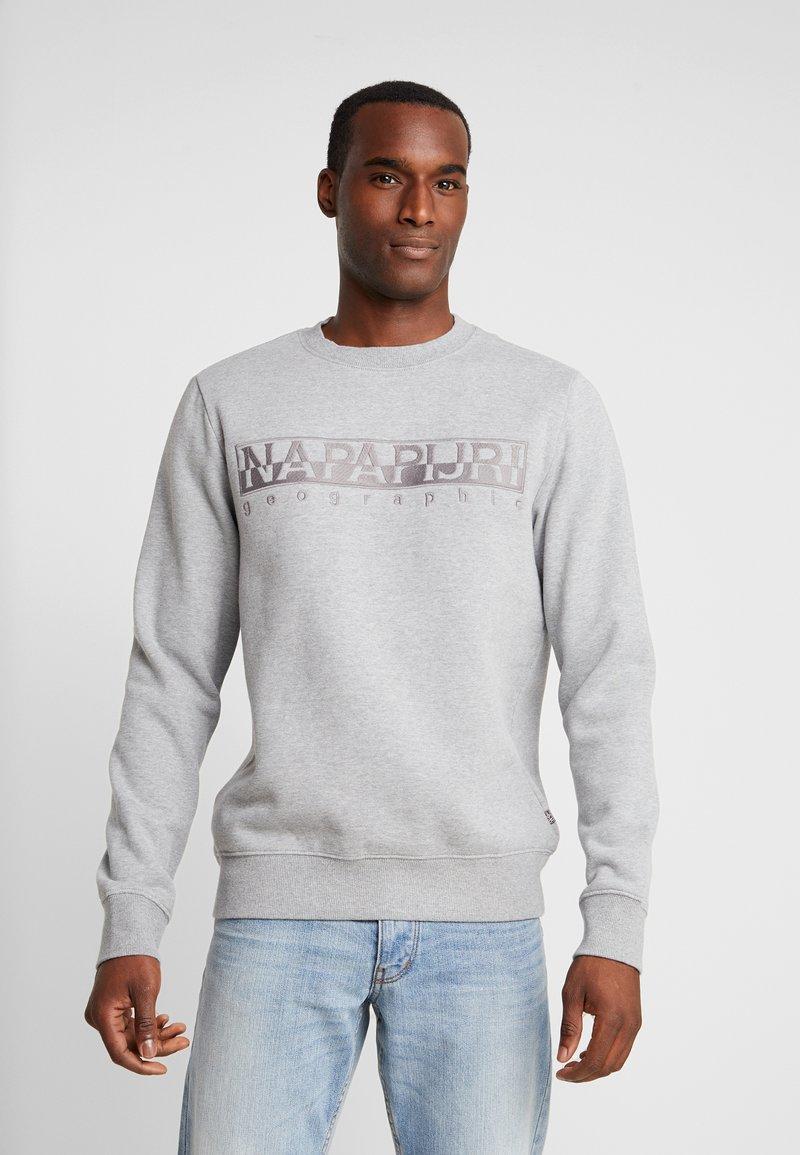 Napapijri - BERBER  - Sweatshirt - med grey melange