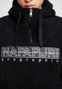 Napapijri - TEIDE NATURAL PEYOTE - Sweat à capuche - black - 3