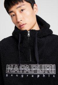 Napapijri - TEIDE NATURAL PEYOTE - Sweat à capuche - black - 4