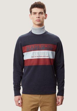 BOVES - Sweatshirt - blue marine