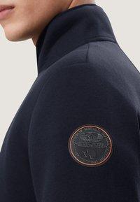 Napapijri - BIEL FZ - veste en sweat zippée - light blue - 4